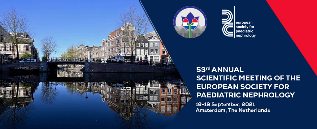 53rd ANNUAL SCIENTIFIC MEETING OF THE EUROPEAN SOCIETY FOR PAEDIATRIC NEPHROLOGY