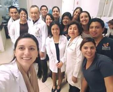 Medical team of Guatemala Roosevelt Hospital