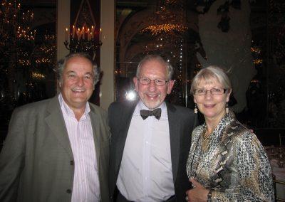 Alan Watson, Isidro Salusky and Alan's spouse