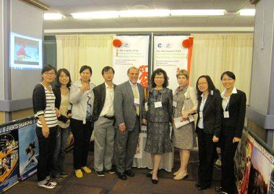 Hong and group from China